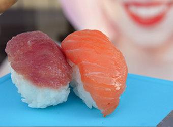 Nigiri atún salmón